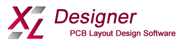 XL Designer PCB Layout Design Software